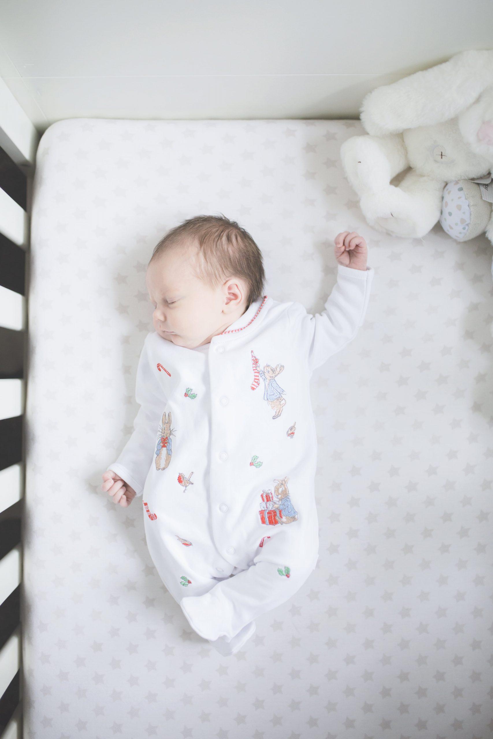Newnborn taking a nap